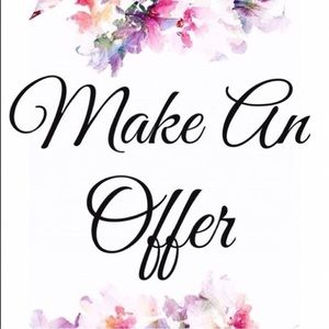 All offers considered!! 💐